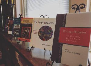 picture of religious studies faculty books